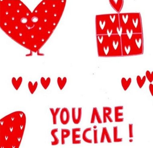 rollo celofan san valentin